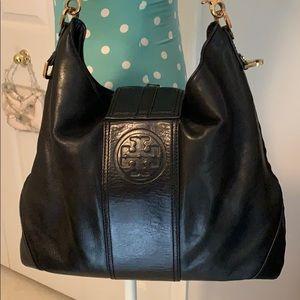 Tory Burch-Black Shoulder Bag-GUC Authentic